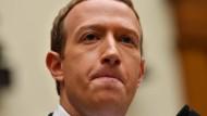Sein Netzwerk sollte erforscht werden können: Facebook-Gründer Mark Zuckerberg im Oktober in Washington.