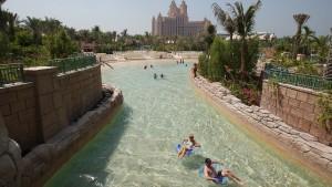 Wasserwahnsinn in der Wüste