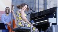 Ist so frei: Norah Jones im vergangenen Sommer beim Newport Jazz Festival