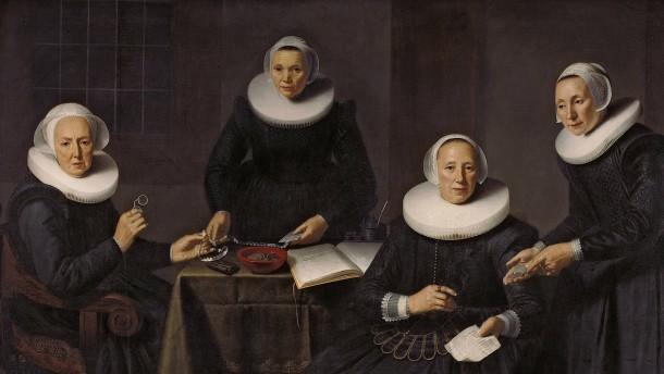 Amsterdam zog die Maler an