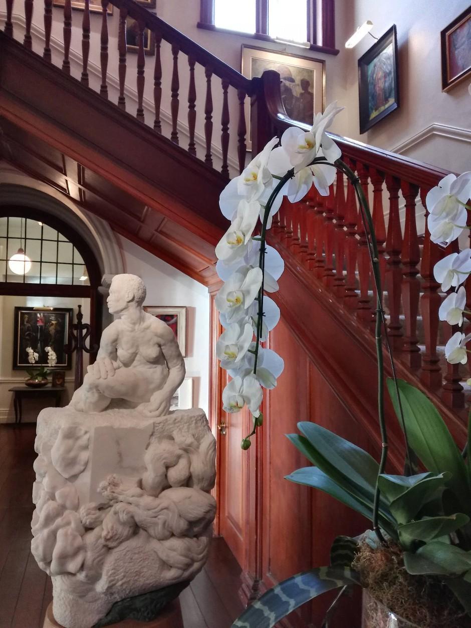 Die Kunst weist im Ellerman House den Weg.