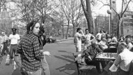 New York, Greenwich Village, 1976