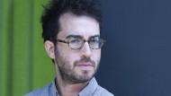 Der amerikanische Schriftsteller Jonathan Safran Foer