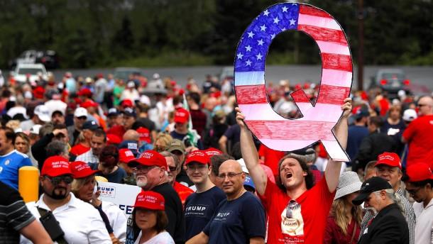 Sie verehren Donald Trump wie einen Heiligen