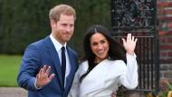 Von Familie, mit Familie: Prinz Harry und Meghan Markle Ende November bei der Bekanntgabe ihrer Verlobung