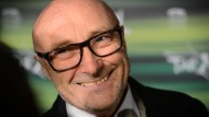 Phil Collins während seines wohlverdienten Interims-Ruhestandes.