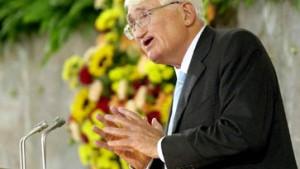 Wegbegleiter: Jürgen Habermas erhielt Friedenspreis