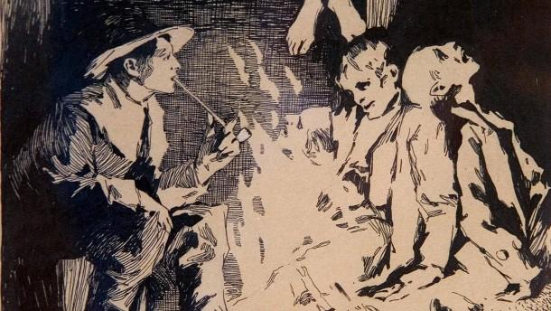 Märchenillustrationen von Otto Ubbelohde - Die Ausstellung im Brüder Grimm Haus Steinau zeigt 70 Originalarbeiten Marburger Malers, die sich mit Märchen, Sagen und literarischen Motiven beschäftigen.