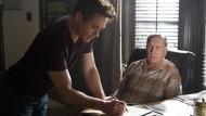 Hat der Bengel doch etwas von mir gelernt? Robert Duvall als Vater Joseph, Robert Downey Jr. als Sohn Hank