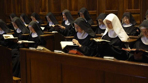 Nonnen singen fürs Internet