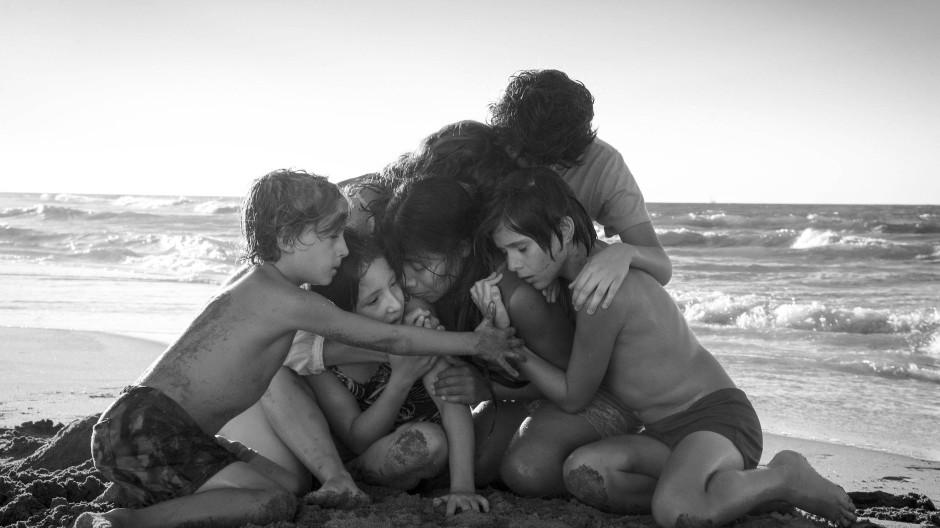 """In den Sparte """"nicht-englischsprachiger Film"""" und beste Regie für einen Oscar nominiert: Szene aus """"Roma"""" von Alfonso Cuarón"""
