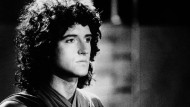Brian May 1980, als seine Band Queen den Rap miterfand.