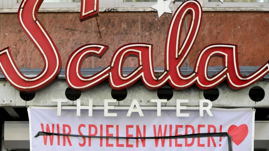 Die schönen Blütenträume vom Sommer welken: Ein Kölner Theater verabschiedet sich in den neuen Lockdown.