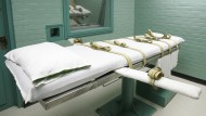Hinrichtungsraum in in Huntsville, Texas, im Mai 2008