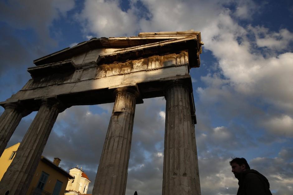 Die Agora in Athen