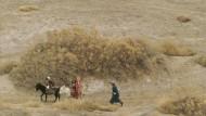 In der Kargheit der zentralasiatischen Steppe sah Platonow einen fruchtbaren Boden für Hochkulturen: Turkmenische Nomaden