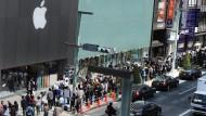 Big Apple ist watching you: iPad2-Verkaufsstart in Tokio