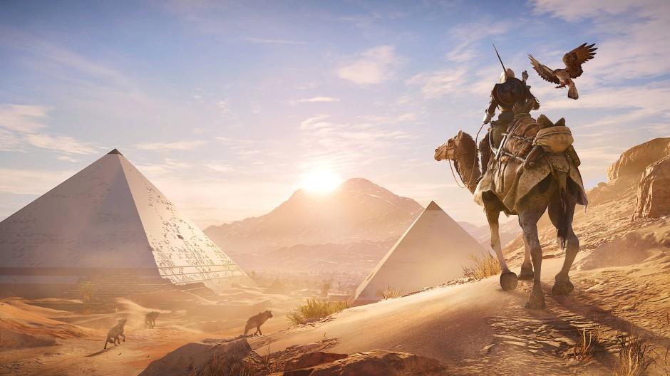Spuren im Sand: Das neue Assassin's Creed-Spiel Origins