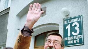 """Grass schreibt """"rührenden"""" Brief an Danzigs Bürgermeister"""