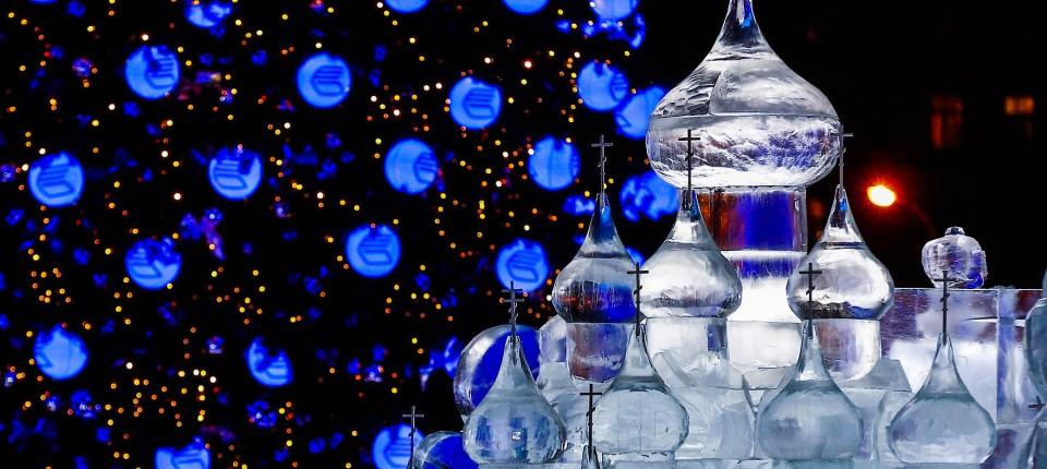 Entstehung Von Weihnachten.Weihnachten In Russland Tannenbaum Und Stalin