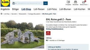 Ruinöse Gartenkunst