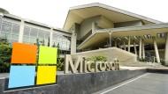 Microsofts Besucherzentrum in der Zentrale in Redmond