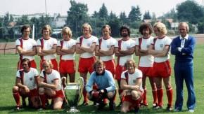 Bayern München mit Europapokal