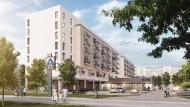 Aldi will jetzt auch günstigen Wohnraum ins Sortiment aufnehmen: Leider sehen die ersten Entwürfe ein bisschen sehr nach dem Sparstil von Rabatthausen aus.