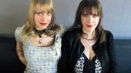 Dass ich eins und doppelt bin: Kerstin (links) und Sandra Grether sind Doctorella