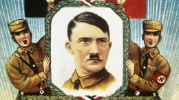 Das Porträt des Führers im Herrgottswinkel
