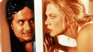 """Szene aus """"Der Rosenkrieg"""" mit Michael Douglas und Kathleen Turner"""