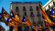Wir wollen wählen: Proteste in Barcelona gegen die Entscheidung des Verfassungsgerichts, das die Volksbefragung untersagen wollte.
