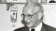 Hans-Adolf Jacobsen, geboren am 16. November 1925, gestorben am 12. Dezember 2016