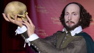 Wachsfigur von William Shakespeare bei Madame Tussauds in Berlin