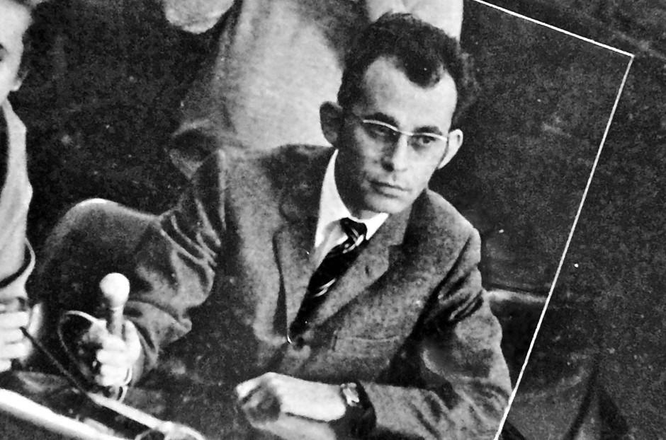 Rudolf Crisolli, der Onkel des Dokumentaristen Georg M. Hafner