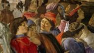 """Botticellis """"Anbetung der Könige"""" enthält vermutlich ein Porträt Lorenzo de' Medicis (vorne links)."""