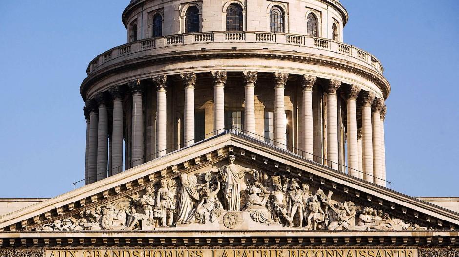 Im Pantheon gedenkt Frankreich 73 seiner grands hommes (und inzwischen auch fünf Frauen).