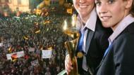 Eine Nacht mit den Weltmeisterinnen