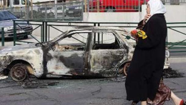 Gewalt in Pariser Vorstädten eskaliert