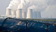 Beschleuniger des von Menschen verursachten Klimawandels: Braunkohle-Tagebau nordöstlich von Cottbus