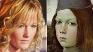 Ein Knabenporträt von Pinturicchio als Helene Fischer.