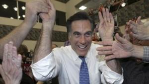 Romney bei Wählerversammlung in Maine vorne