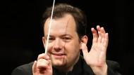 Andris Nelsons Ende Mai bei einer Probe mit dem Gewandhausorchester in Leipzig