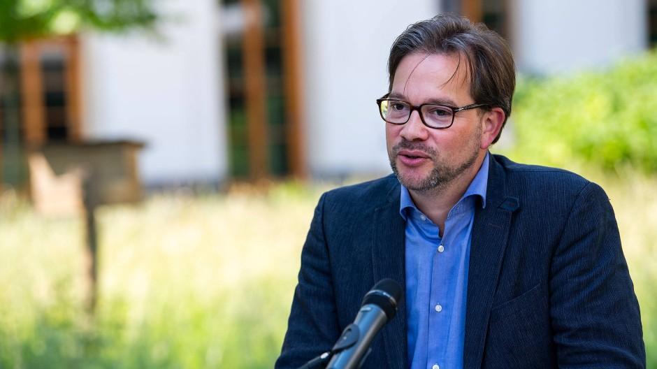 Florian Pronold (SPD), Parlamentarischer Staatssekretär im Bundesumweltministerium, am 6. Juni 2019 in Berlin.