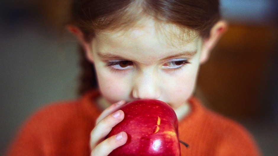 Einfach mal am Apfel riechen!