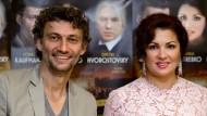 Der erste gemeinsame Bühnenauftritt lässt weiter auf sich warten: Anna Netrebko und Jonas Kaufmann