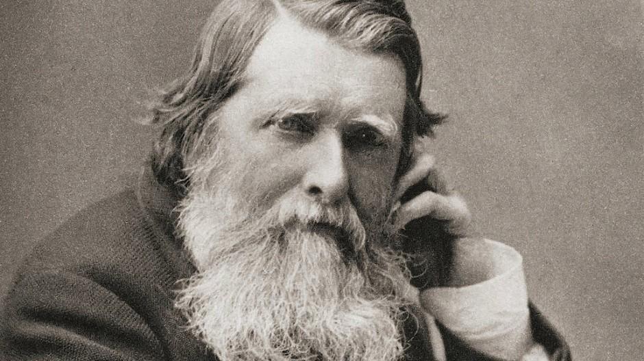 1901, im Jahr nach seinem Tod veröffentlichtes Porträt John Ruskins