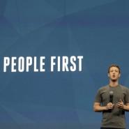 Die Geschäftsinteressen zuerst: Facebook-Gründer Mark Zuckerberg