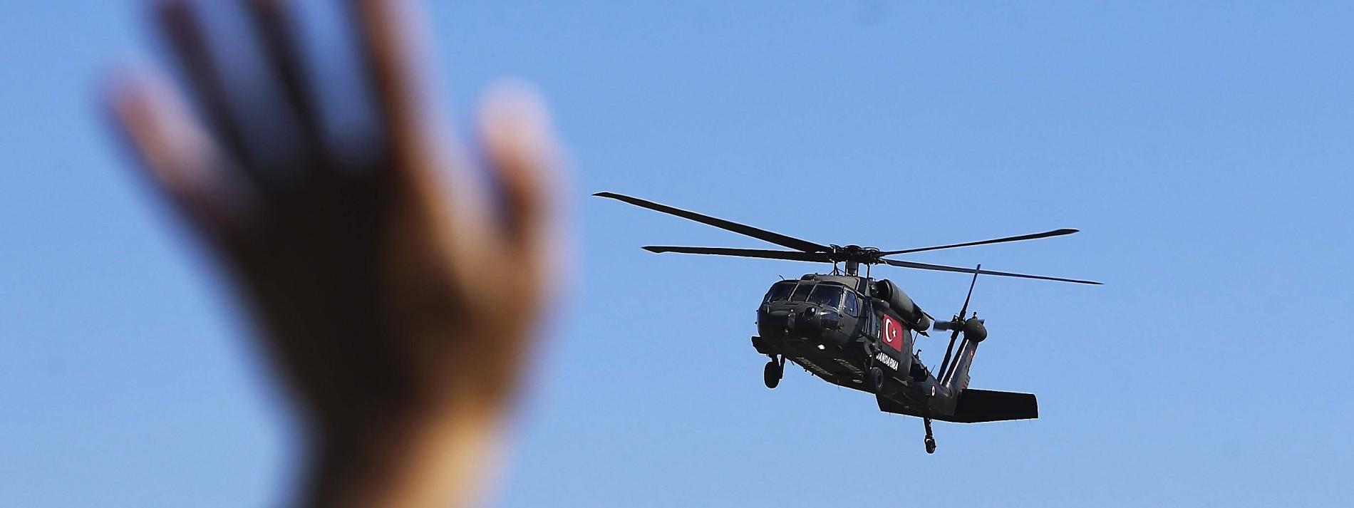 Folterinstrument Hubschrauber