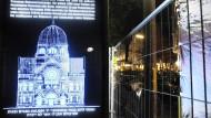 In Hamburg soll die historische Bornplatzsynagoge wieder aufgebaut werden.